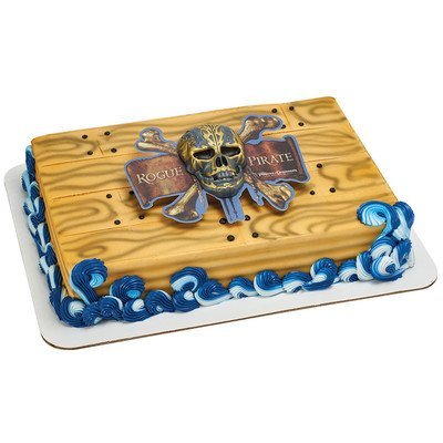 A1 Bakery Supplies Pirates of the Caribbean Marked by a Curse Cake Decorating Set by A1 Bakery Supplies