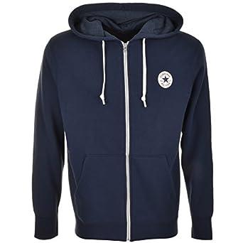 9cfbc5fbe5e8 Mens Converse All Star Core Logo Full Zip Hoodie Navy - Medium   Amazon.co.uk  Clothing