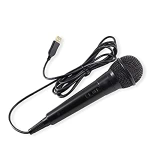 1pc usb wired microphone high performance karaoke microphone for switch ps4 for wiiu. Black Bedroom Furniture Sets. Home Design Ideas