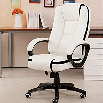 Set of 2 PU Leather Ergonomic High Back Office Chair Executive Computer Desk New