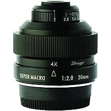 ZHONGYI Mitakon 20mm f/2 4.5X Super Macro Lens for Sony E NEX Mount A7 II A6500