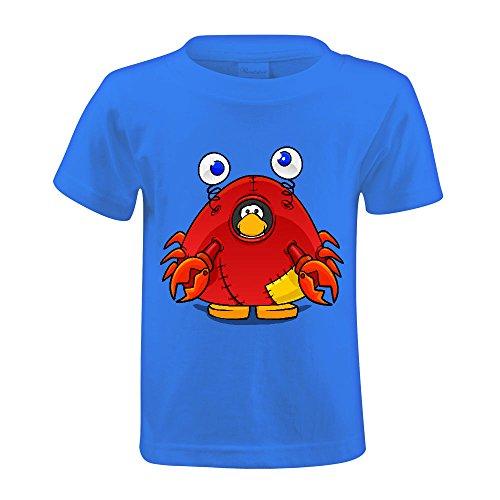 [Timico DIY Crab Costume Kids T-shirt Blue] (Dance Costumes Online America)