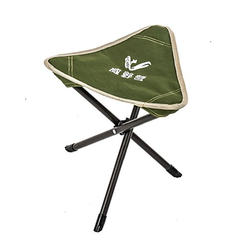 V-Camp Portable Fishing Stool Mini Folding Tripod Camp Chair Fishing Tackle by VCAMP