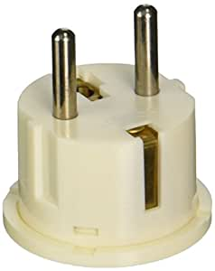 VCT USA to Europe Travel Plug Adapter Grounded German Shucko Plug (VP-11W)