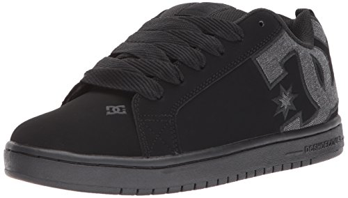 Bhe GRAFFIK COURT Shoes DC Uomo SHOE Sneaker Black naOpCqxzw
