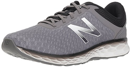 New Balance Men's Kaymin V1 Fresh Foam Running Shoe Grey/Black 14 D US