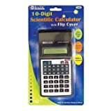 BAZIC 10-Digit Scientific Calculator w/ Flip Cover Case Pack 48