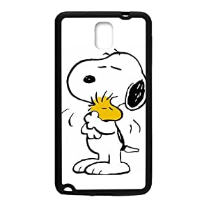 Happy Lovely snoopy Cell Phone Case for Samsung Galaxy Note3