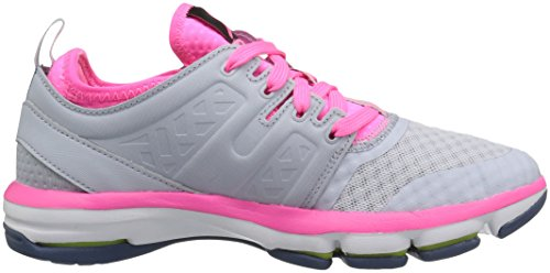 Reebok mujer Cloudride DMX Walking zapatos Grey-Pink-White-Slate