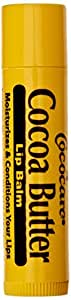 Cocoa Butter Lip Balm, .15 oz, 6 Pack