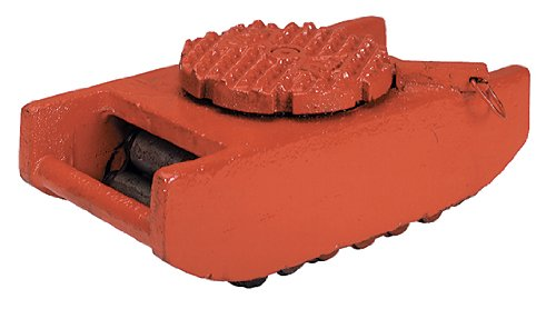 Wesco 480002 HeviMover Steel Machine Roller, 8,000-lb. Capacity, 4-4/16'' x 5-1/2'' x 10''