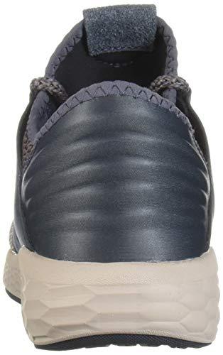New Balance Women's Fresh Foam Cruz V2 Sneaker, Thunder/Latte/Flat White, 6.5 B US