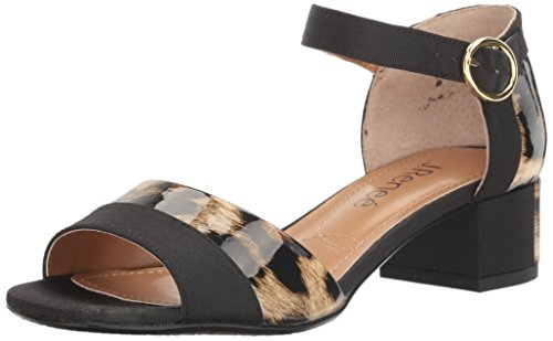 J Sandal Women's Tan Black Renee Dress Pebblebeach 6wrz6qT