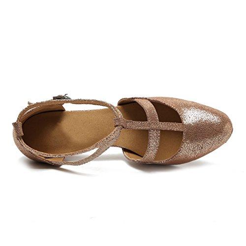 Miyoopark - salón mujer Gold-8.5cm Heel