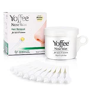 Yoffee Nose Wax - 50G - Kit para la depilación de la nariz ...