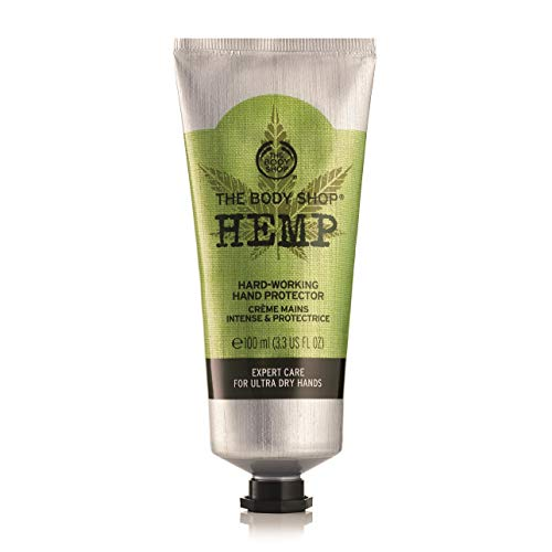 The Body Shop Hand Protector, Hemp, 3.3 Fluid Ounces