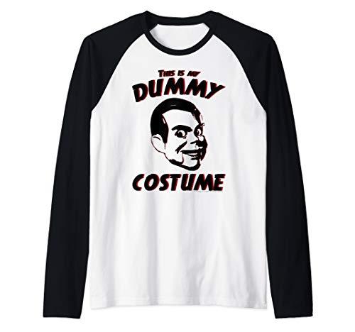 Goosebumps Dummy Costumes - Goosebumps Dummy Costume Text Raglan Baseball