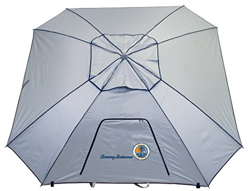 Tommy Bahama 9-Foot Outdoor UPF50+ Total Sun Block Extreme Shade Umbrella and Sun Shelter