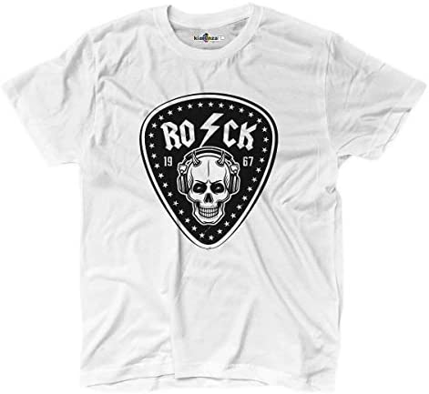 KiarenzaFD Camiseta Camiseta Música Hard Rock Heavy Metal ACDC Calavera Old School Thunder, KTS02173-XL-white, Blanco, X-Large: Amazon.es: Deportes y aire libre