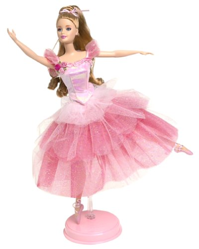 Mattel Barbie Ballerina Doll (2000 Flower Ballerina Barbie Doll from The Nutcracker)