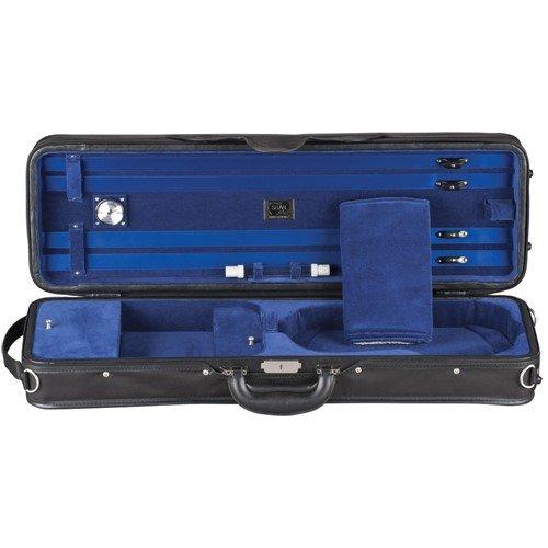 Shar Professional H-Series Lightweight Violin Case Blue 4/4 Size