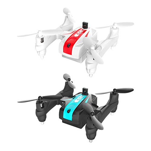 Likero Remote Control Drone AG-03S Foldable 720P Quadcopter,Headless 360 Mini Aircraft Battle Flips (Quadcopter (with Battery) x2) by Likero (Image #7)