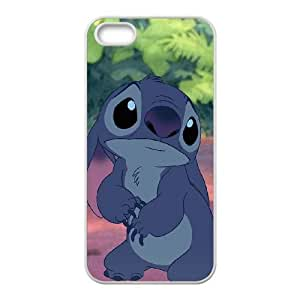 iPhone 5 5s Cell Phone Case White Lilo with Stitch BNY_6759055