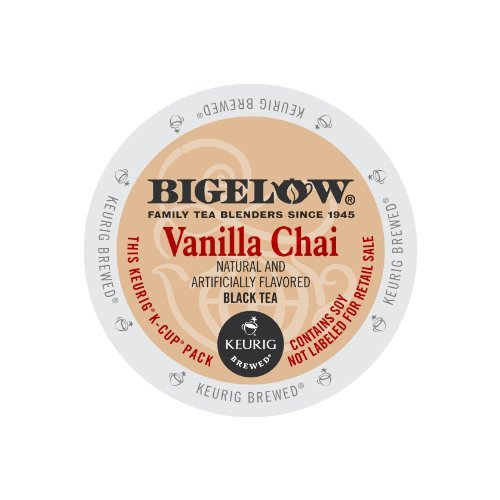Bigelow Vanilla Chai Tea Kcups 24ct