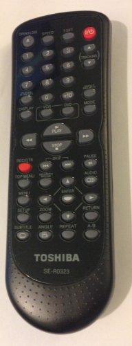 Toshiba Dvd/vcr Remote Control Se-r0323 79104138 (Vcr Toshiba)