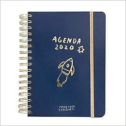 Agenda anual 2020 Monstruo Espagueti: 19 (TANTANFAN): Amazon ...