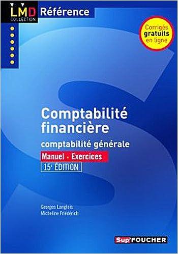 Livres gratuits en ligne Comptabilité financière 15e édition pdf ebook