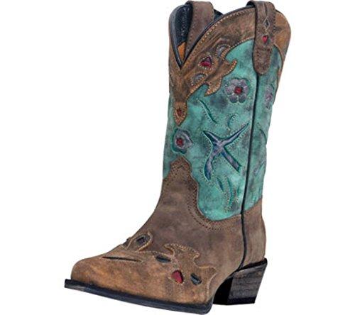 Dan Post Childs Vintage Bluebird Snip Toe Boot