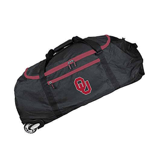 Ncaa Rolling Backpack - NCAA Oklahoma Sooners Crusader Collapsible Duffel, 36-inches