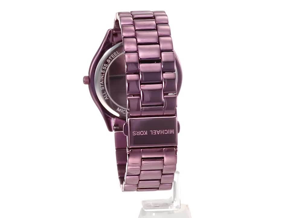 Michael Kors Slim Runway Three-Hand Watch 6