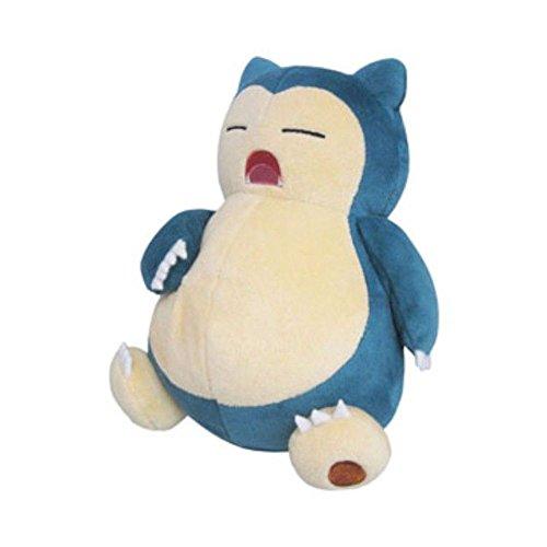 Sanei Pokemon All Star Collection Snorlax Stuffed Plush Toy, 8 #34;