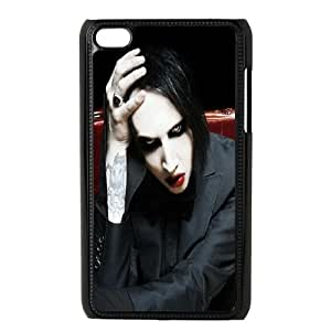 iPod Touch 4 Case Black Marilyn Manson S3S0W