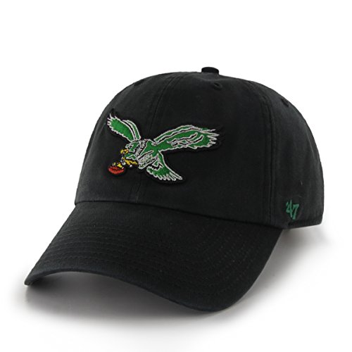 NFL Philadelphia Eagles Clean Up Adjustable Hat, One Size, Black ()