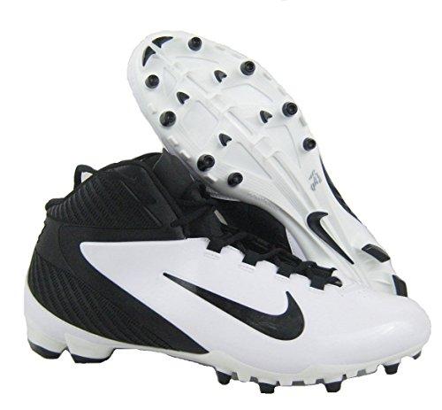 Nike Alpha Speed Td Mens Moulé Chaussures De Football Blanc Noir