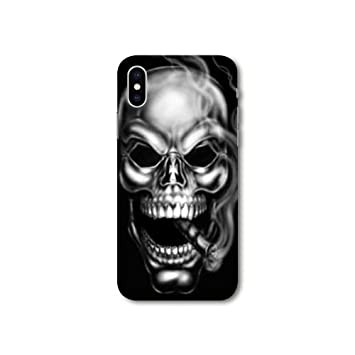 iphone xs max coque tete de mort