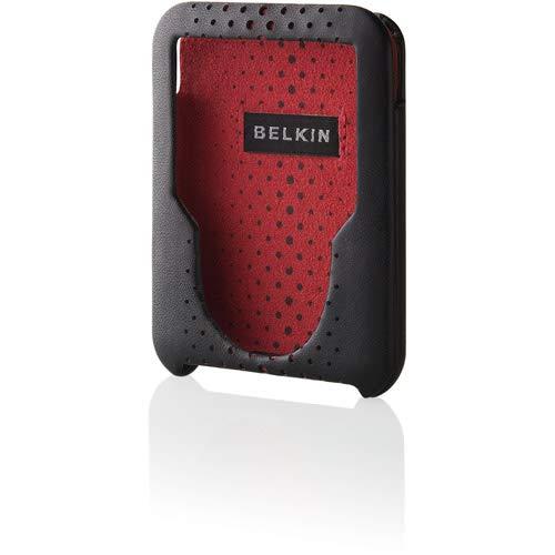 Belkin 3rd Generation Black iPod Nano Leather Case