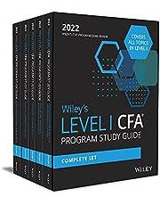 Wiley′s Level I CFA Program Study Guide 2022: Complete Set