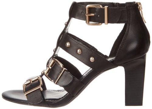 Bcbgeneration Pointure Fizzy Cuir Chaussures 5 Sandales 37 Noir Femmes Eu RHxUqrR