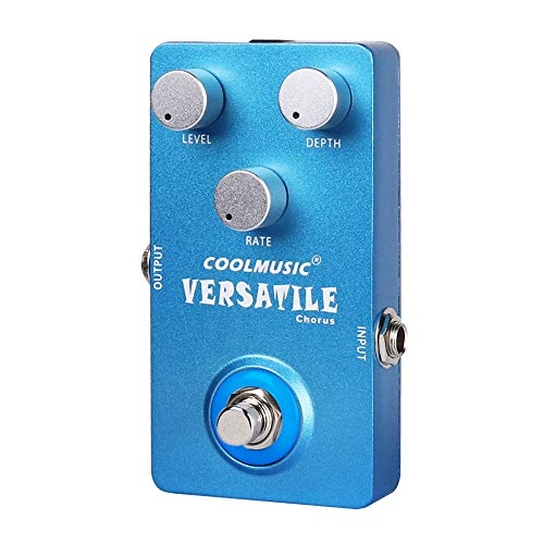 Coolmusic C-CH01 Versatile Chorus Pedal Guitar Pedal Effects Bass Pedal