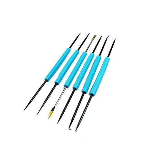 Hand Tool Sets - 6pcs Lot Steel Solder Assist Repair Set Electronic Welding Grinding Cleaning Repairing Kits - With Clearance For Case Men Mechanics Kobalt Stanley