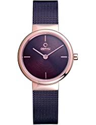 OBAKU V153LXVNMN Womens Wrist Watches, Classic Analog Watch with 2 Hands