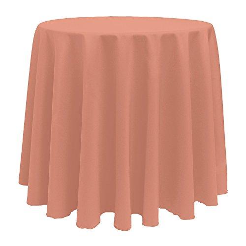 Single Piece Coral Tablecloth (90