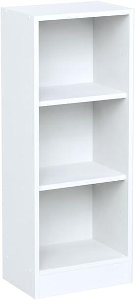 INFINIKIT Haven Pequeño Librero, Blanco, 41,5x104,5x28 cm: Amazon ...