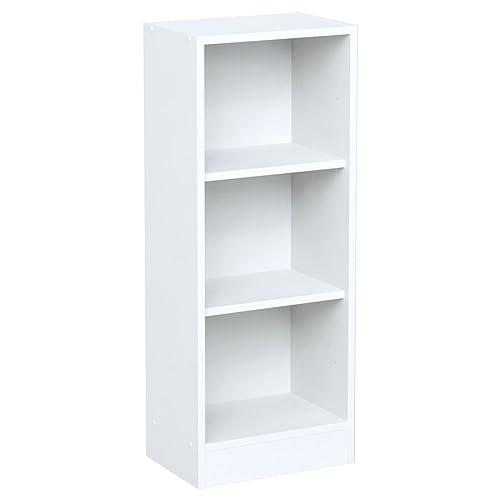 White Tall Bookcase: Amazon.co.uk
