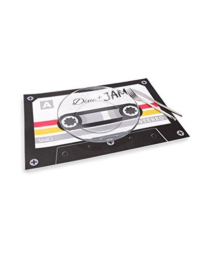 Table Place Mat Cassette Tape