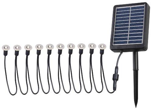 Kenroy Home 60506 String Solar Light Product, Black (Outdoor Transitional Ten Light)